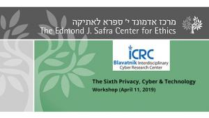 The Sixth Privacy, Cyber & Technology Workshop